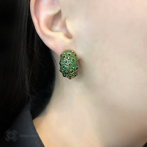 Simon Harrison Fabulous Frog Prince Earrings (SHJ024) Model