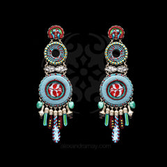 Ayala Bar 'Hip' Coral Cave Spectacular Earrings (AB7512)