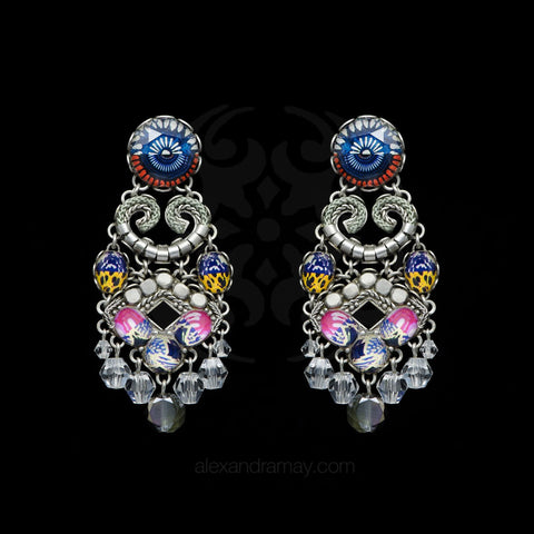 Ayala Bar 'Radiance' African Textile Inspired Earrings (AB0695)