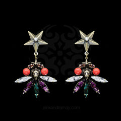 Anton Heunis 'Gypsy Queen' Bronze Lion Star Earrings (GPQ3.14)