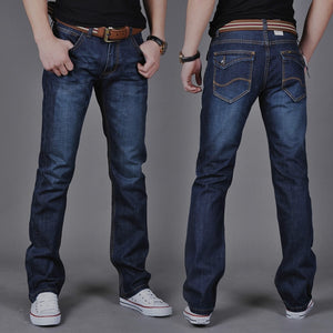 Hot Selling Men Jeans Casual Straight Slim Jeans Youth 2020