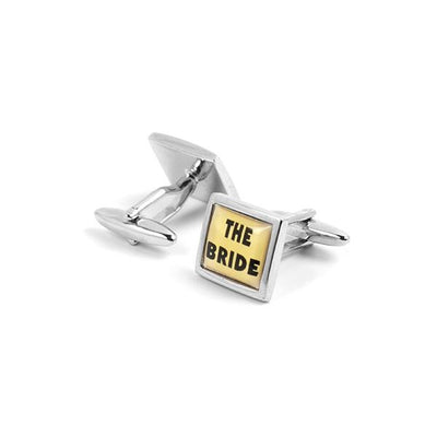 Novelty Cufflinks - The Bride - Cuffz