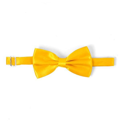 Moon yellow bow tie - Cuffz