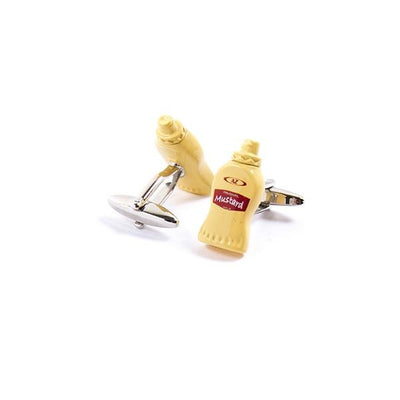 Novelty Cufflinks - Mustard - Cuffz