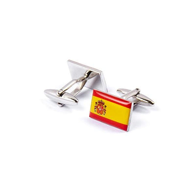 Novelty Cufflinks - Flag Of Spain - Cuffz