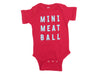 Mini Meatball Onesie