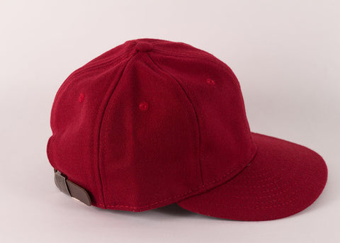 c418d89734a372 ... Ebbets Field Flannels 1940's Ball Cap | College Red Wool