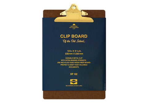 Hightide Penco Utility Clipboard Gold Clip | A4