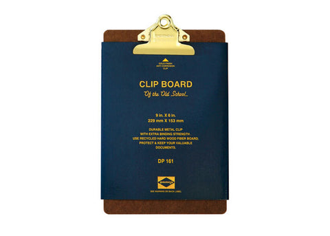 Hightide Penco Utility Clipboard Gold Clip | A5