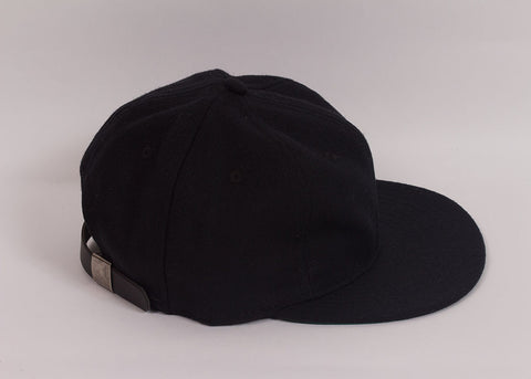 Ebbets Field Flannels 1940's Ball Cap | Black Wool