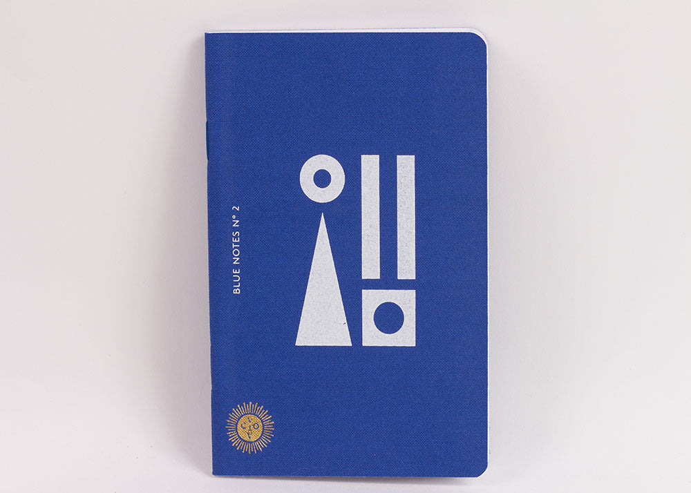 Octeavo 'Blue Notes' Notebook | Set Of 3