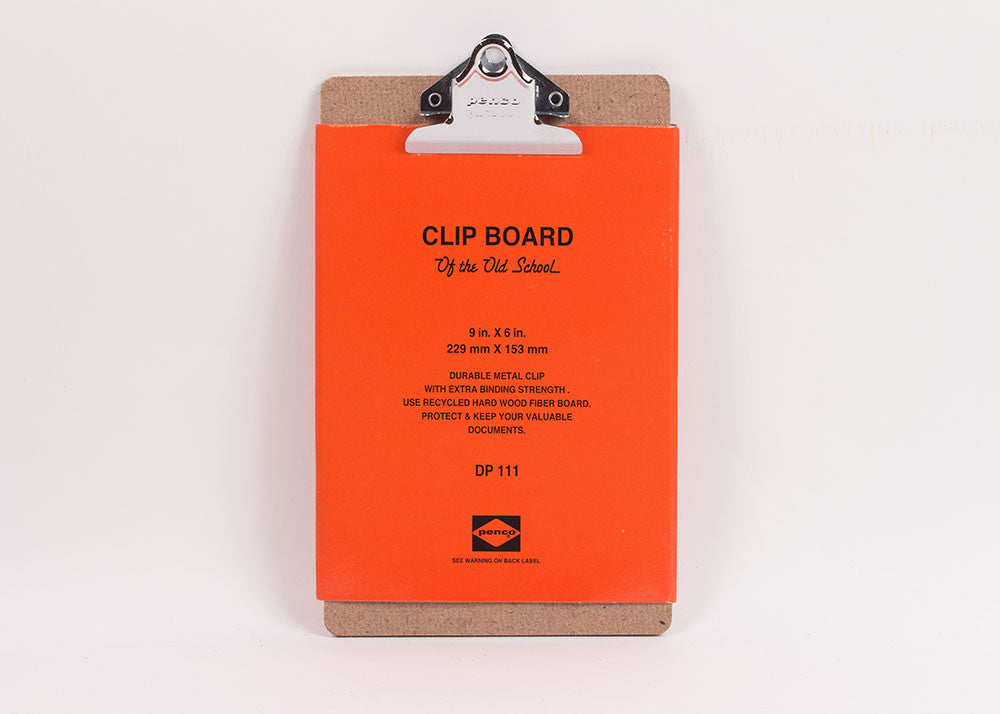 Hightide Penco Utility Clipboard | A5