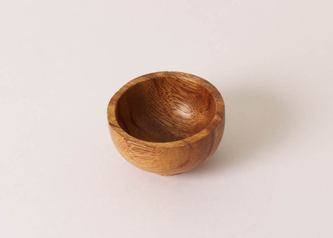 Fog Linen Work Acacia Wood 'Pinch' Bowl