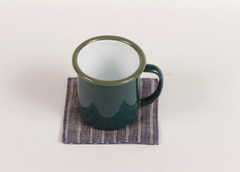 Falcon Enamelware Mini Coffee Mug | Samphire