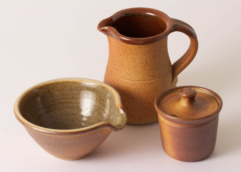 Muchelney Pottery Condiment Pot