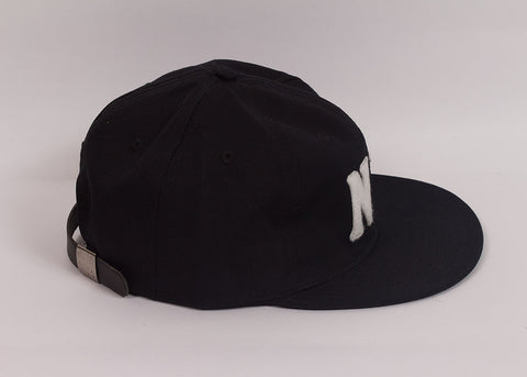 Ebbets Field Flannels NY Black Yankees 1936 Ball Cap | Black Chino Twill
