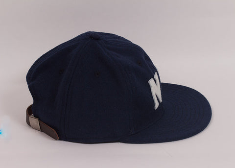 Ebbets Field Flannels NY Black Yankees 1936 Ball Cap | Navy Wool