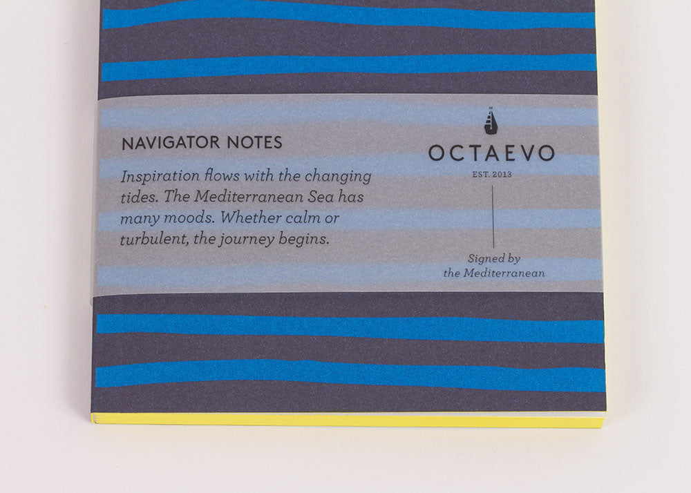 Octeavo 'Navigator Notes' Notebook