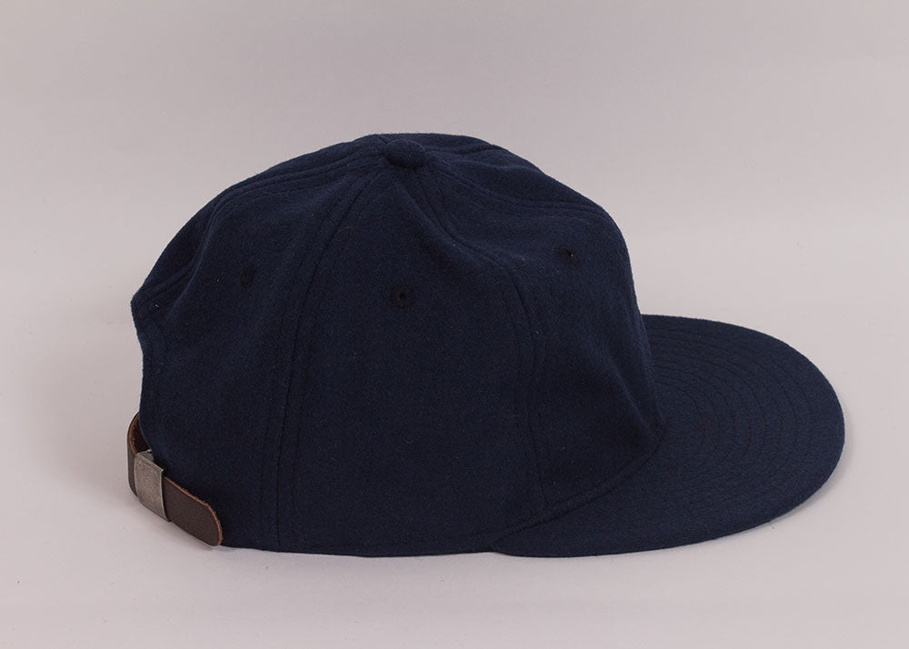 Ebbets Field Flannels 1940's Ball Cap | Navy Wool