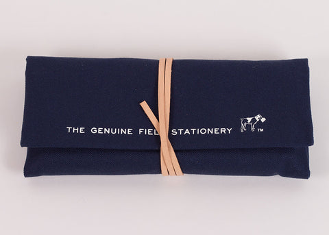 Hightide Penco Field Roll Pen Case | Navy