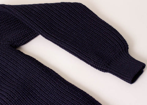 The Shopkeeper Store Submariner Wool Sweater Navy