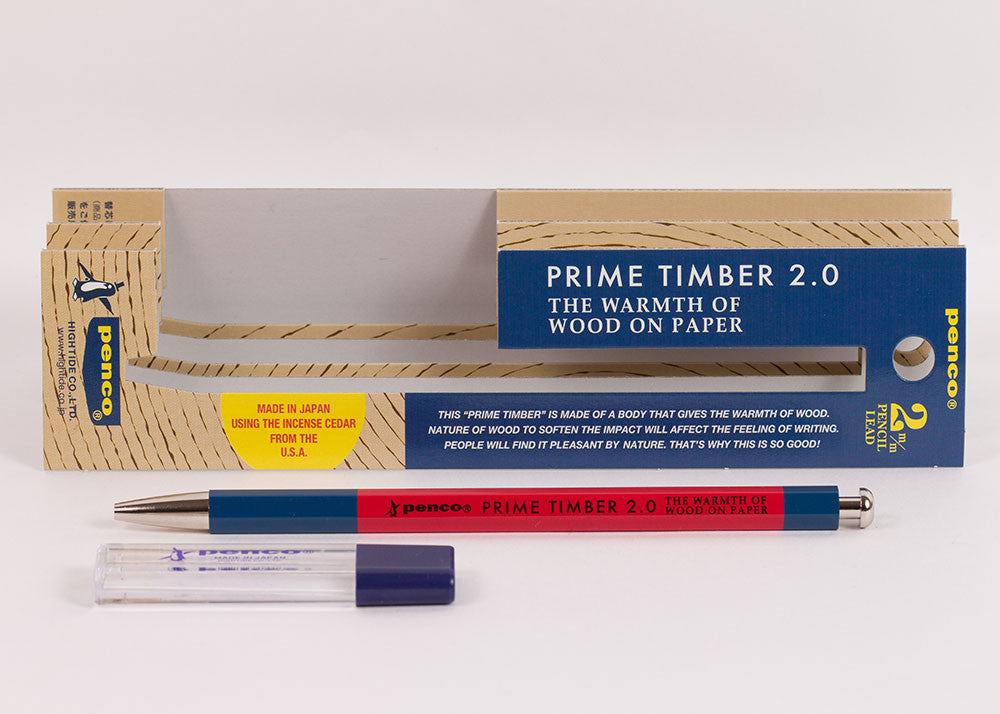 Hightide Penco Prime Timber Pencil | Red