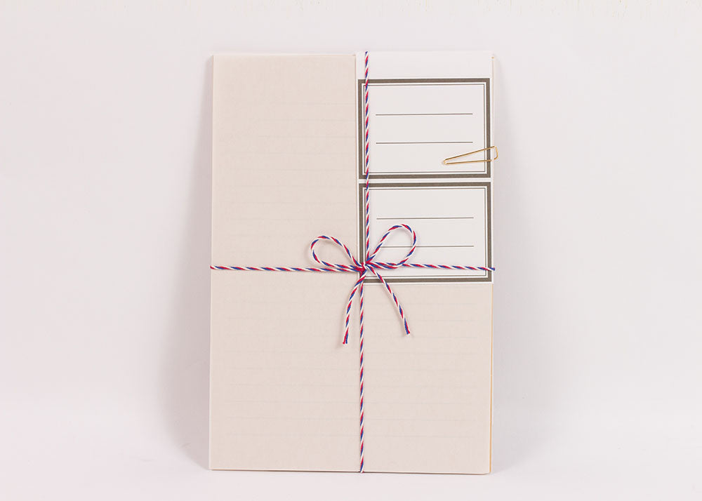 Hightide Courier Letter Set | Natural White