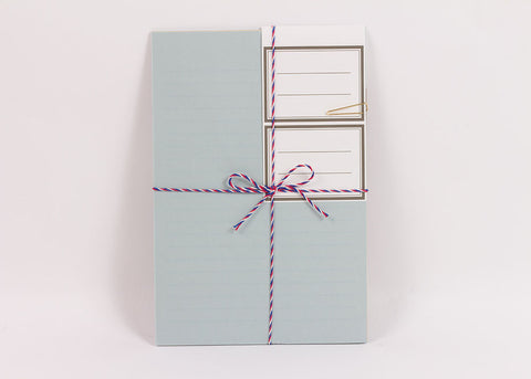 Hightide Courier Letter Set | Pale Blue