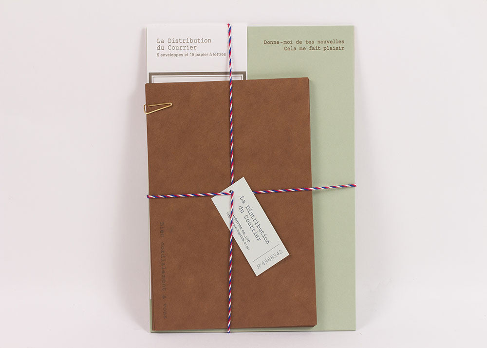 Hightide Courier Letter Set | Sage Green