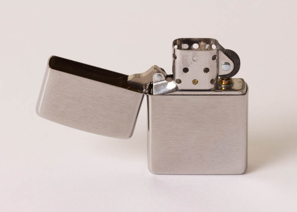 Zippo Original Lighter - Brushed Chrome