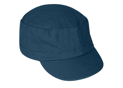 Mousqueton Kid's Canvas Breton Cap | Teal