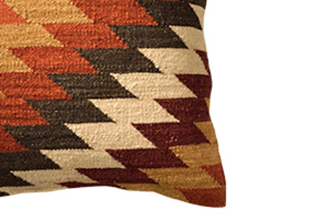 Good Weave Alwar Handloom Kilim Cushion | 45 x 45cm