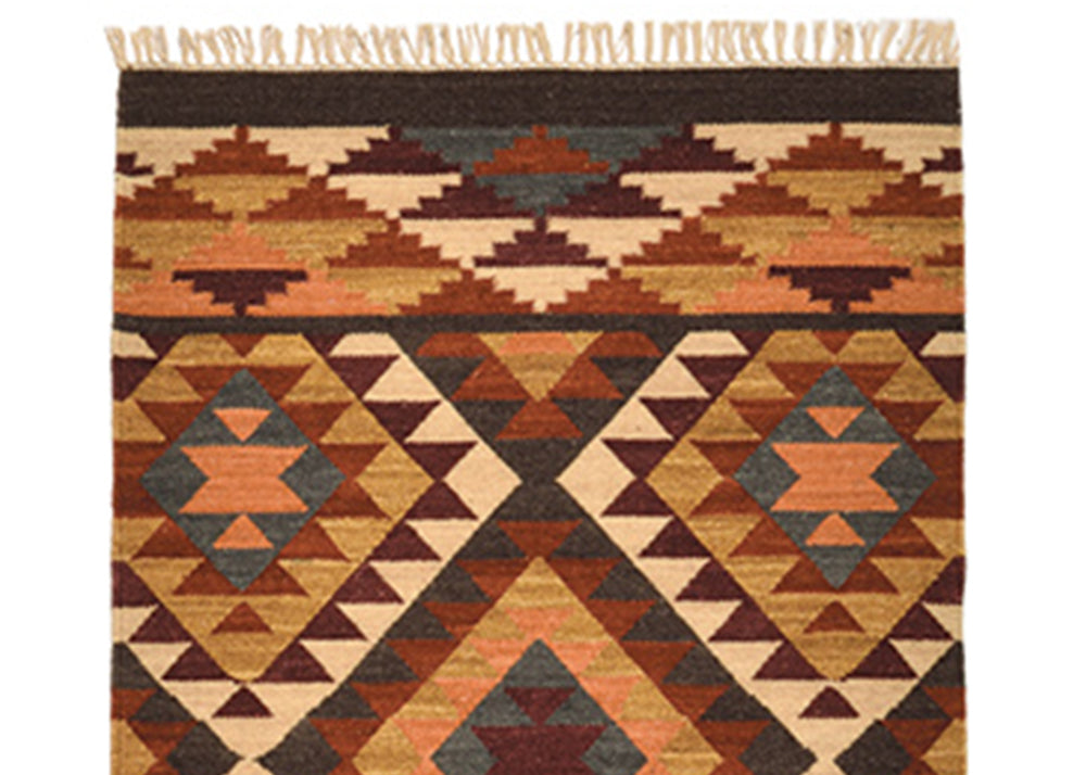 Good Weave Alwar Handloom Kilim Rug