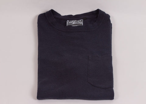 Jungmaven Baja 7oz Short Sleeve Pocket Tee | Navy