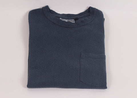 Jungmaven Baja 7oz Short Sleeve Pocket Tee | Indigo