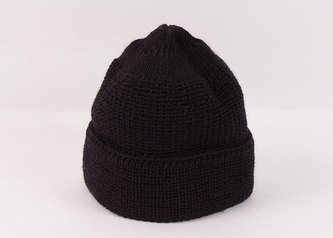 Leuchtfeuer Strickwaren Traditional Mariner Cap - Black