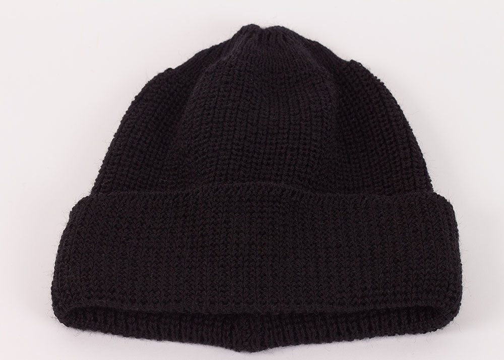 Leuchtfeuer Strickwaren Traditional Watch Cap - Black