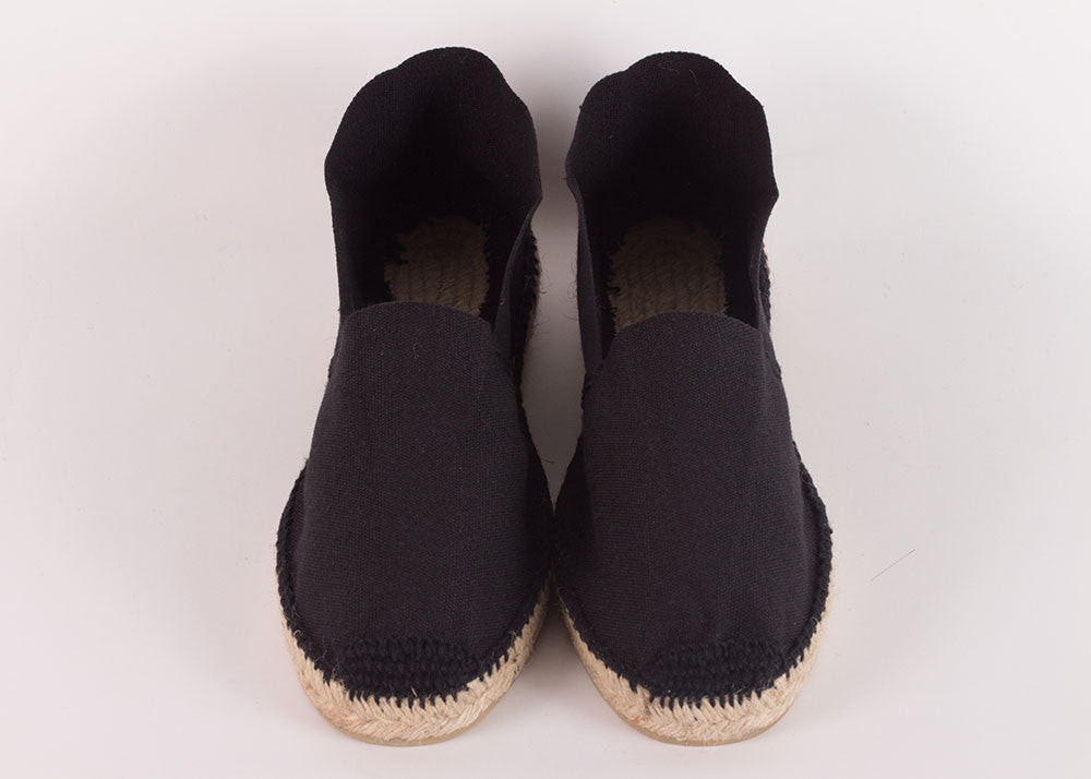 Ramoncinas Traditional Hand-Stitched Espadrilles | Nero