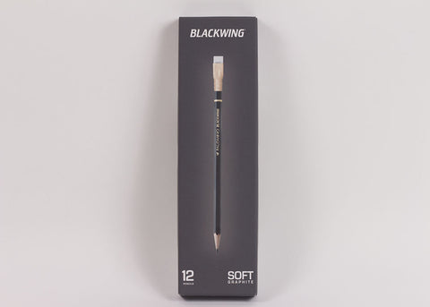 Blackwing Soft Graphite 602 Pencil Set | Matt Black