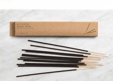 PF CANDLE CO Charcoal Incense | Black Fig