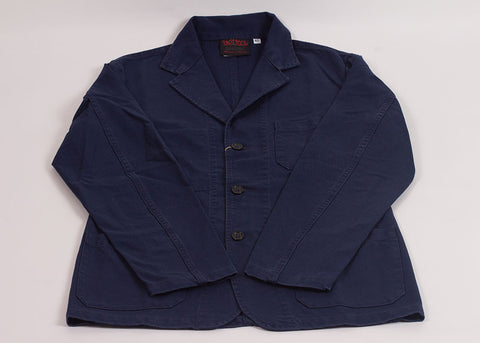 Vetra No.24 Cotton Twill Blazer | Navy