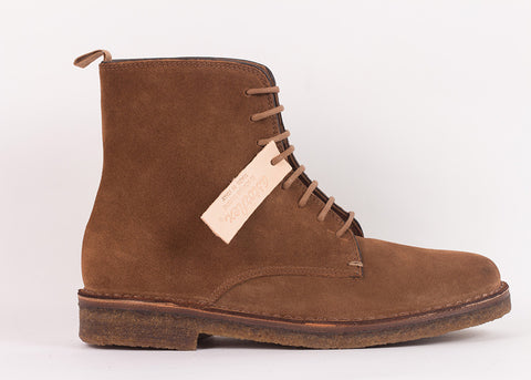 Astorflex Bootflex Derby Boot | Dark Khaki