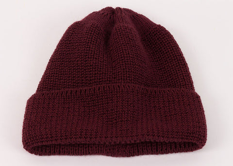 Leuchtfeuer Strickwaren Traditional Watch Cap - Bordeaux