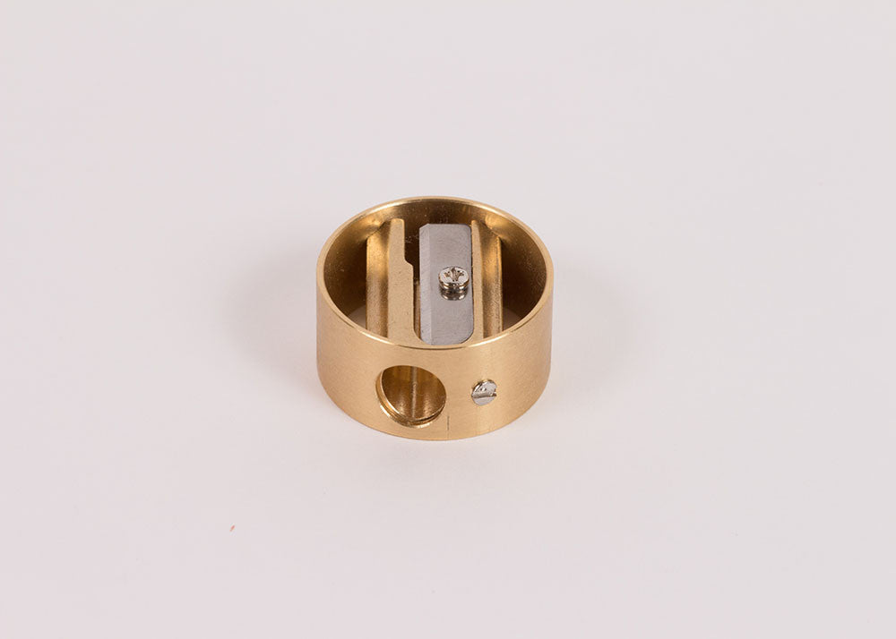 Dux Brass 'Ring' Pencil Sharpener