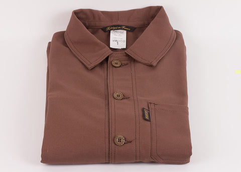 Le Laboureur Cotton Drill Work Jacket | Marron