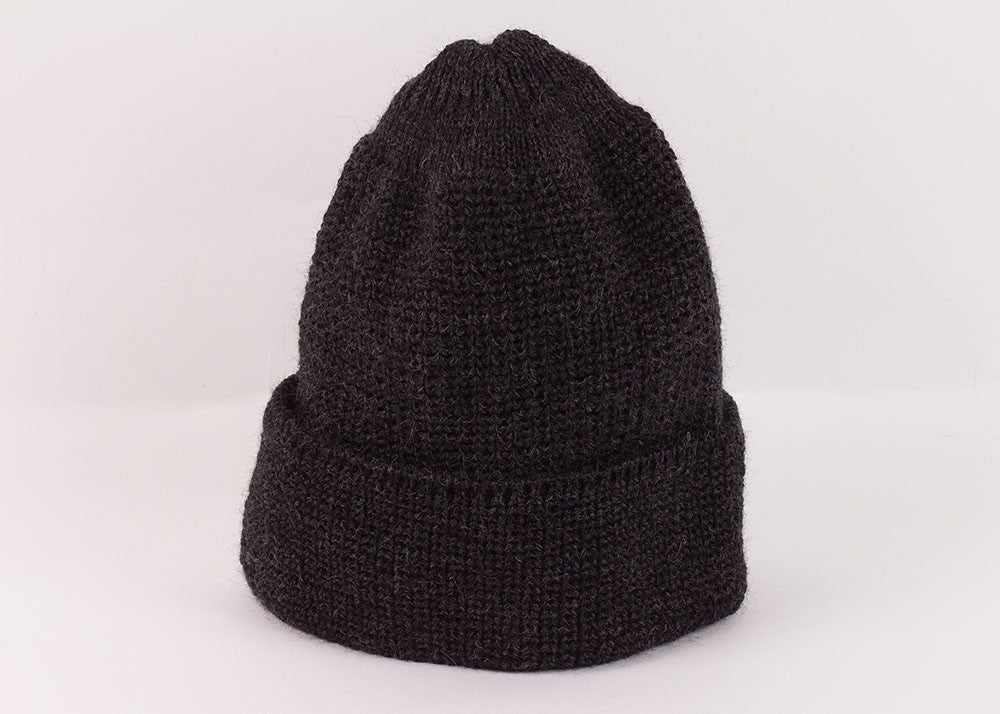 Leuchtfeuer Strickwaren Traditional Watch Cap - Charcoal
