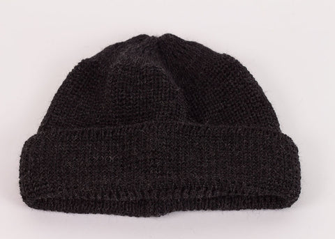 Leuchtfeuer Strickwaren Traditional Mariner Cap - Charcoal