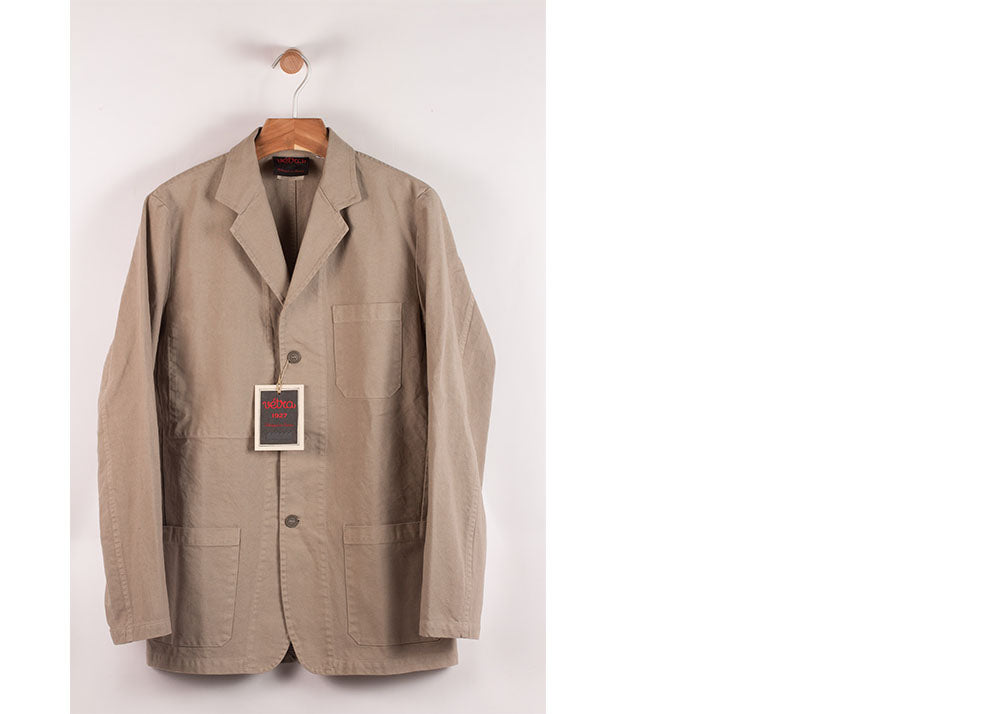 Vetra Washed Cotton Twill Blazer | Rigging