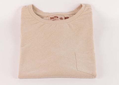 Satta Hemp Pocket Tee | Calico