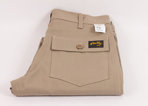 Stan Ray 1300 Slim Fit Fatigue Pant | Khaki Twill